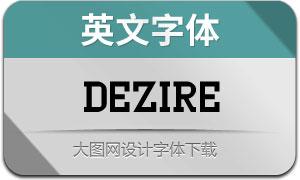 Dezire(英文字体)