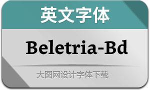 Beletria-Bold(英文字体)