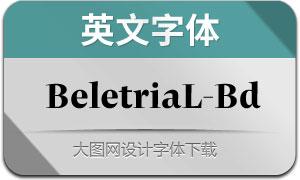 BeletriaLarge-Bold(英文字体)