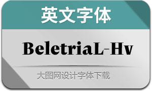 BeletriaLarge-Heavy(英文字体)
