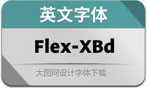 Flex-ExtraBold(英文字体)