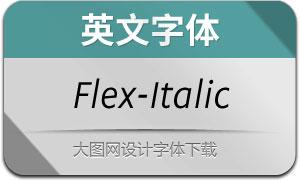 Flex-Italic(英文字体)