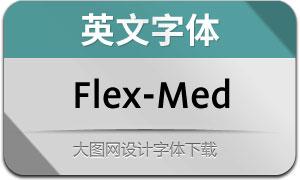 Flex-Medium(英文字体)