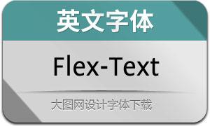 Flex-Text(英文字体)