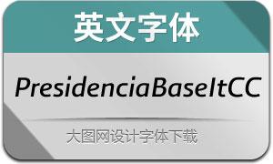 PresidenciaBase-ItalicasCC(英文字体)