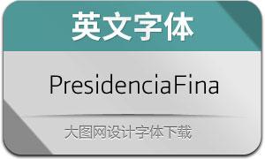 PresidenciaFina(英文字体)