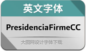 PresidenciaFirmeCC(英文字体)