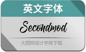 Secondmod(英文字体)