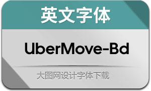 UberMove-Bold(英文字体)