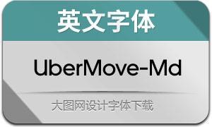 UberMove-Medium(英文字体)