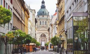 教堂与欧美城市等风光摄影高清图片