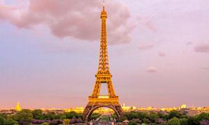 巴黎地標建筑景觀風光攝影高清圖片