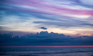 天空云彩海景自然风光摄影五百万彩票图片