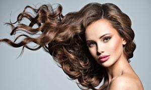 飞扬秀发美女人物模特摄影高清图片