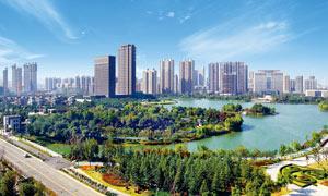 徐州金龙湖美丽景观摄影图片