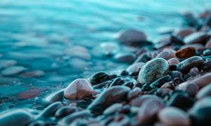 石頭近景特寫攝影圖片
