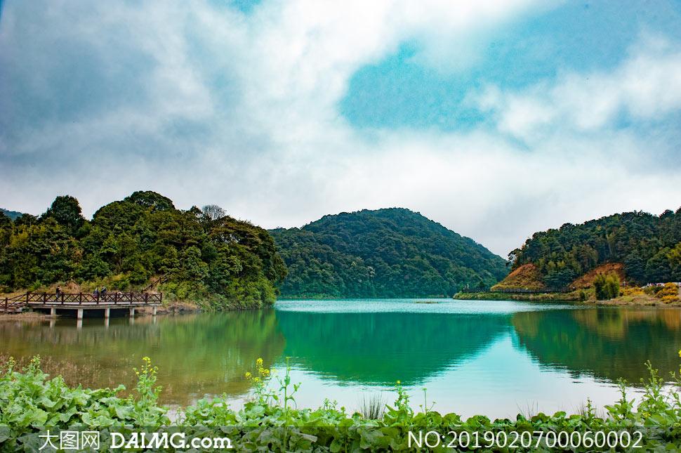 石门国家森林公园美景摄影图片