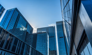 城市高层建筑景观风光摄影高清图片