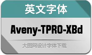 Aveny-TPRO-Extrabold(英文字体)