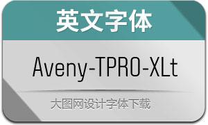 Aveny-TPRO-Extralight(英文字体)