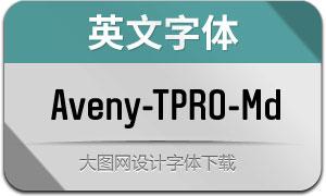 Aveny-TPRO-Medium(英文字体)