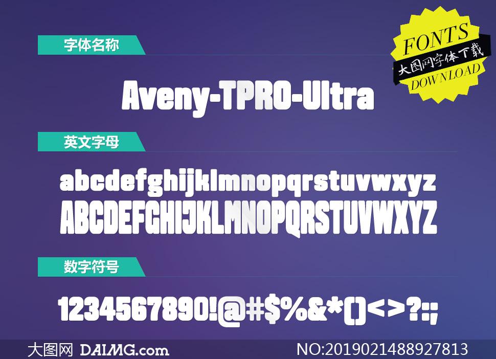Aveny-TPRO-Ultra(英文字体)