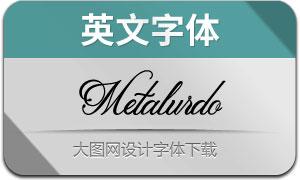 Metalurdo(英文字体)