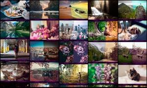 中文版数码照片后期艺术效果PS动作V5