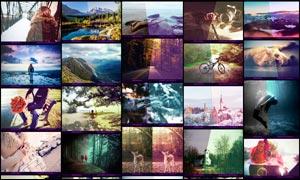 中文版数码照片后期艺术效果PS动作V1