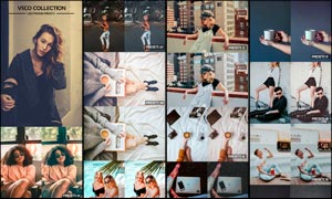 Vsco Cam系列膠片藝術效果LR預設