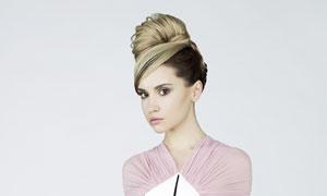 化妆发型展示美女模特摄影高清图片