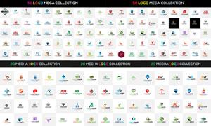 多款色彩缤纷标志创意设计矢量素材