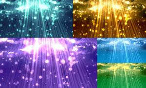 炫丽光效光斑元素抽象背景高清图片