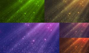 梦幻粒子光斑背景创意设计高清图片