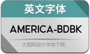 America-BoldBlack(英文字体)