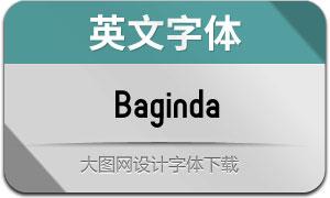 Baginda(英文字体)