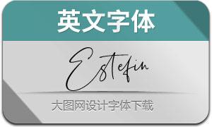 Estefin(英文字体)