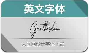 Goatherdam(英文字体)