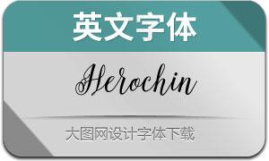 Herochin(英文字体)