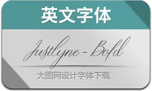 Justlyne-Bold(英文字体)