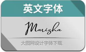 Marisha(英文字体)