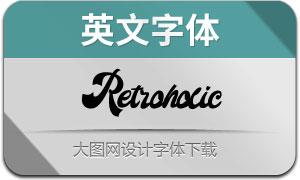 Retroholic(英文字体)