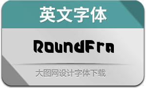 Roundfra(英文字体)