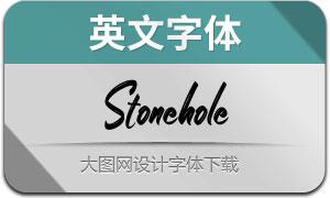 Stonehole(英文字体)