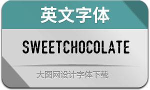 SweetChocolate(英文字体)