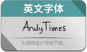 AndyTimes(英文字体)