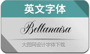 Bellanaisa-Regular(英文字体)