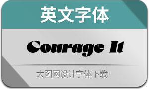Courage-Italic(英文字体)