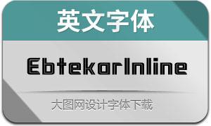 EbtekarInline(英文字体)