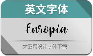 Europia(英文字体)